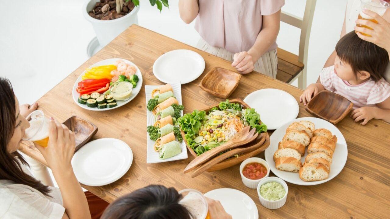 体に優しい食べ方画像